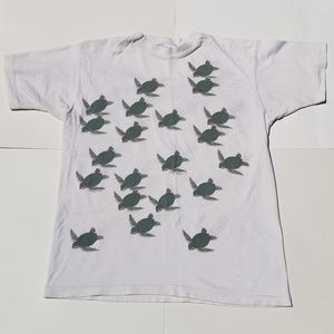 90's Save the Sea Turtles Tee Fletcher's Wildlife